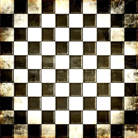 grunge textures: Checkerboard Grunge