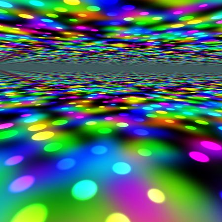 Colorful Party Lights Stock Photo - 5387843