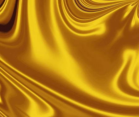 Smooth Gold Satin   photo