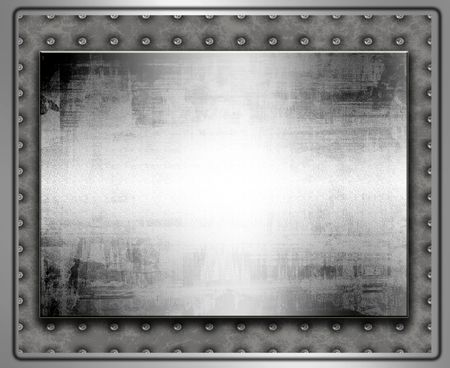 metal: Metal Plate Stock Photo