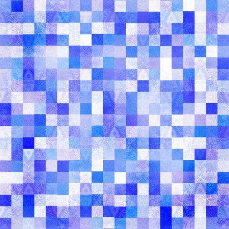 Seamless Blue Tiles photo