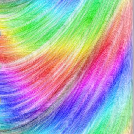 虹羽抽象 写真素材