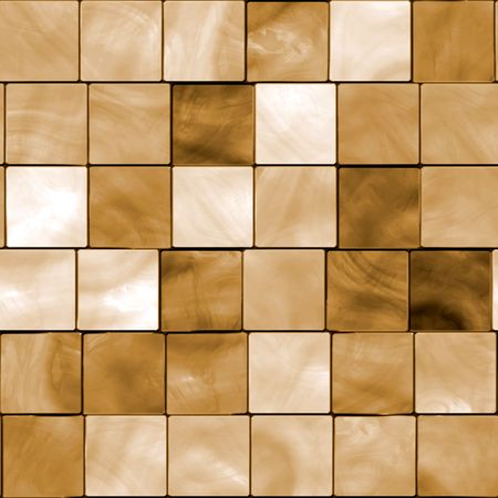 mosaic floor: Seamless Brown Tiles