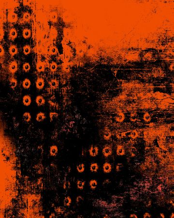 Halloween Colors Abstract Grunge   Stock Photo