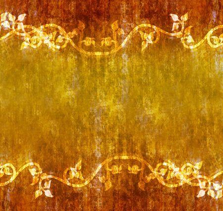 grunge textures: Autumn Vines Grunge