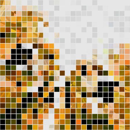 Seamless Mosaic Tiles Abstract Stock Photo - 5429781