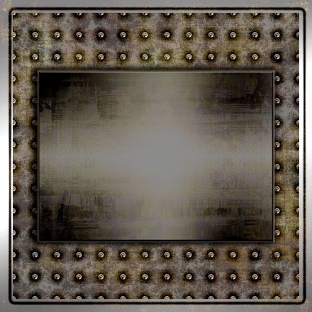 metallic background: Grunge Metal