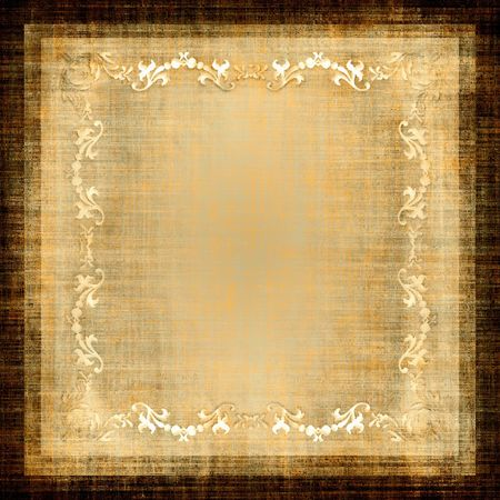 burlap: Vintage Decorative Grunge