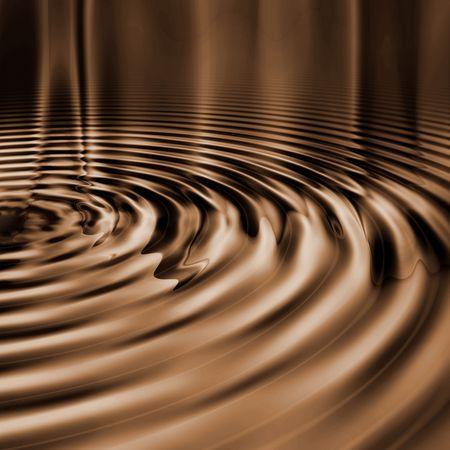 smooth: Smooth Chocolate Ripples Stock Photo