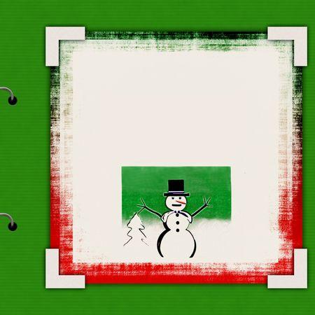 Christmas Album Cover Template   photo
