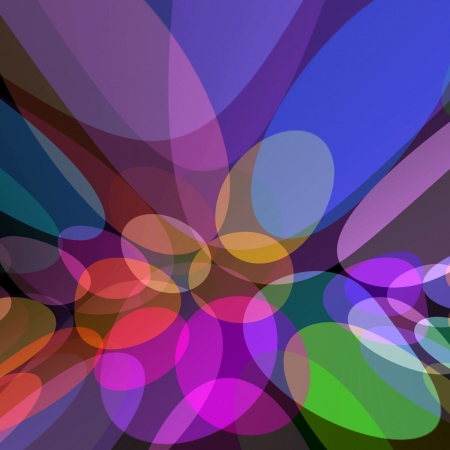 zooming: Colorful Holiday Lights Abstract