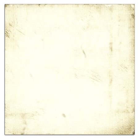 linen texture: Old Light Paper Isolated On White