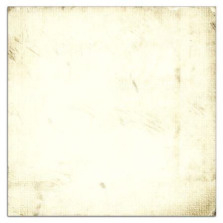 Oud Papier Licht op wit wordt geïsoleerd