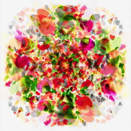 Floral Bouquet Art Abstract