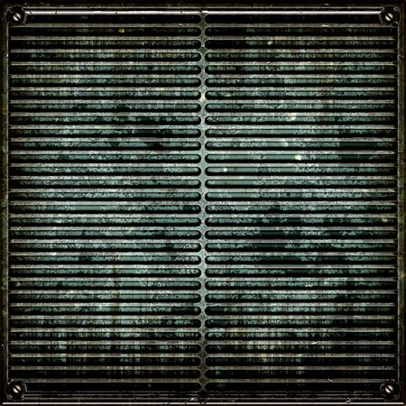 metal grate: Metal Plate Grunge Seamless Stock Photo