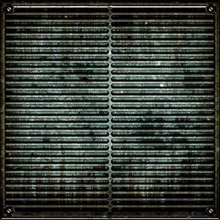 Metal Plate Grunge Seamless Stock Photo