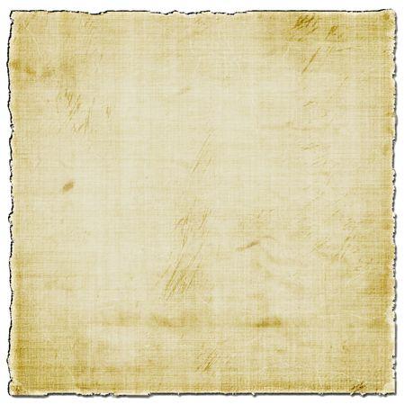 Papel viejo aislado en blanco Foto de archivo - 5481271