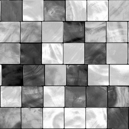 Naadloze White en Gray Tone tegels  Stockfoto