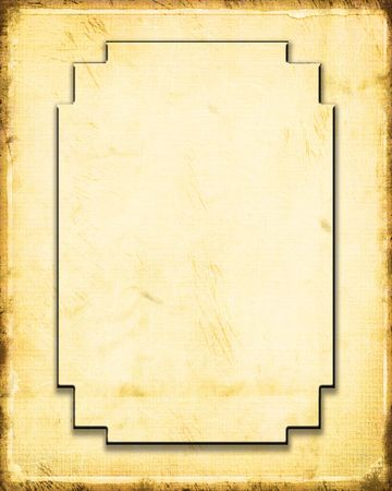 western wall: Decorative Paper Frame