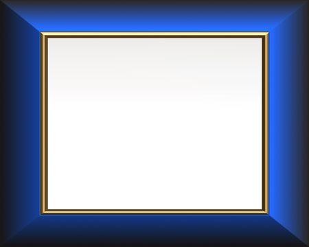 Image de Blue Galerie élégante  Banque d'images - 5521656