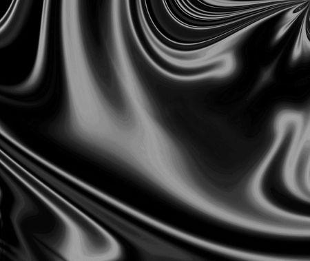 Sensuous, Smooth, Luxurious Black Satin