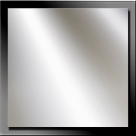 shine: Metal Plates With Copy Space And 3D Look Stock Photo