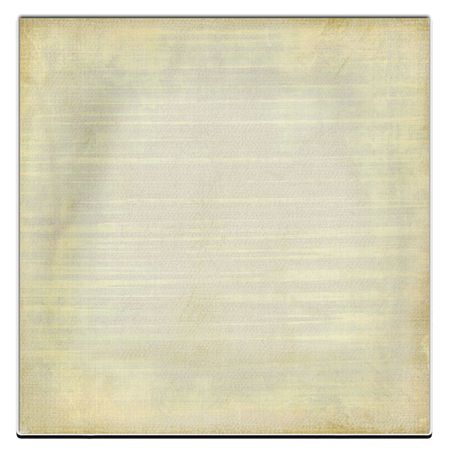 lined: Old Paper Isolated On White