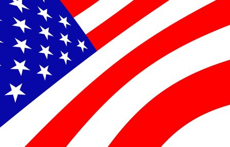 American Flag Design   Stock Photo - 5693918