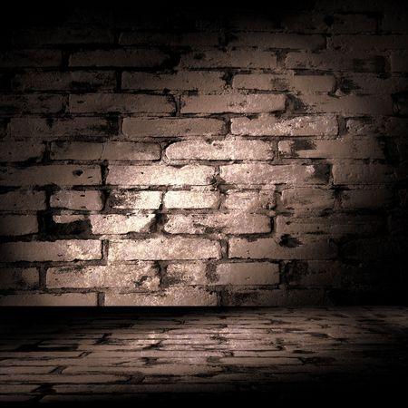 textured wall: Brick Wall Room