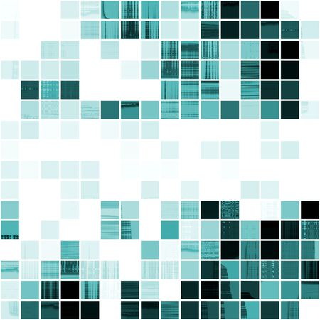 digital: Seamless Mosaic Tiles Design  Stock Photo