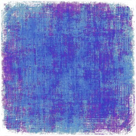 Grunge Paint Texture Blue Background