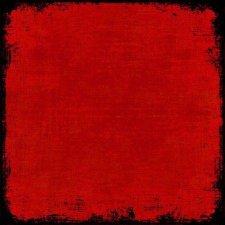 bordure de page: Grunge peinture rouge texture contexte