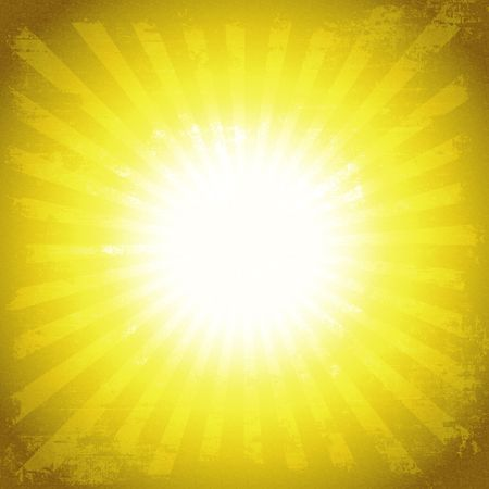 Grunge Sun Burst Rays