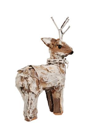 Weihnachten Hirsch aus Rinde
