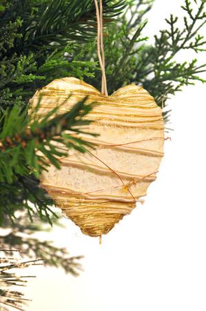 kugel: hang up christmas decoration Stock Photo