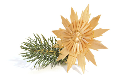 jahreswechsel: collection of straw star