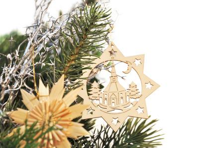 jahreswechsel: riagganciare decorazione di Natale
