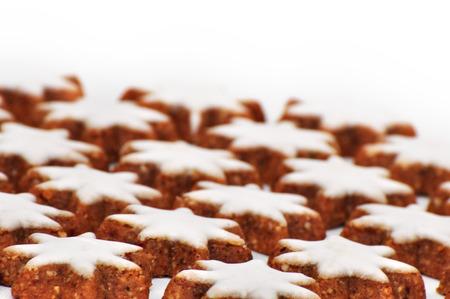 cinnamon star, a lot of christmas cookies photo