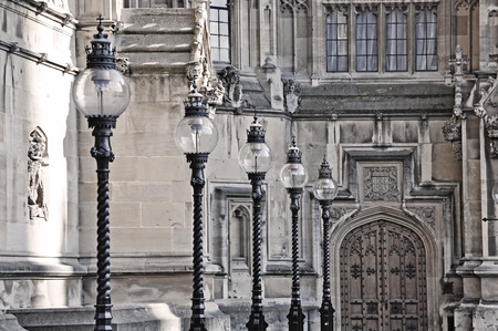 Street light in London, Great Britain Stock Photo