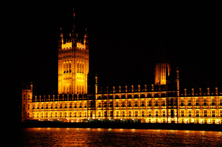 great britain: Palais de Westminster � Londres, Grande-Bretagne Banque d'images
