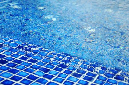 mosaic tile: piscina mattonelle di mosaico di dettaglio Archivio Fotografico
