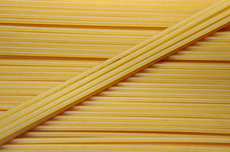 instantnudeln: abstract noodles, uncooked instant spaghetti