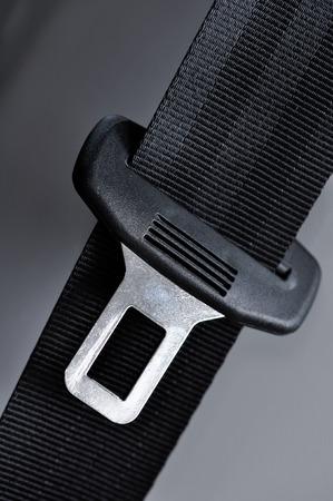 closeup of a seat belt photo