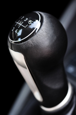 Detail of a shift lever