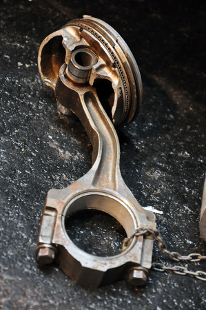 Motor part of a car Reklamní fotografie
