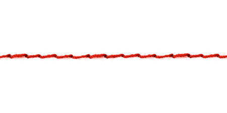 einfache rote Naht; Hauptthema