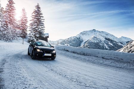 Winterlandschap in de Alpen