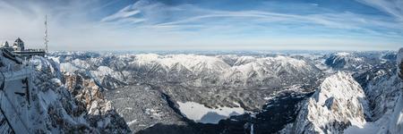 eis: wondervoll winter day on the Zugspitze