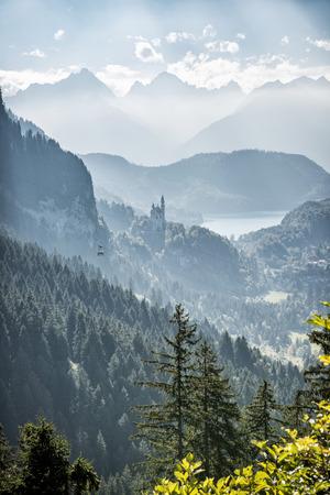 Autumn day in the Allgäu 版權商用圖片