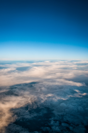Over the clouds 版權商用圖片 - 91583689